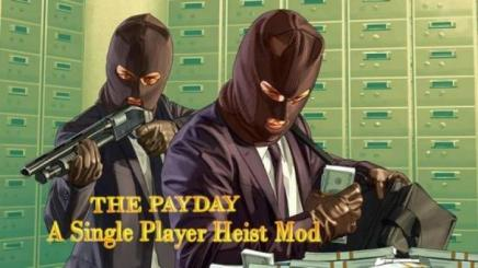 Photo of Gta 5 – The Payday : A Single Player Heist Mod 1.0
