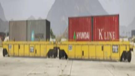 Photo of Gta 5 – Twin Container Single Stack With Liveries V1