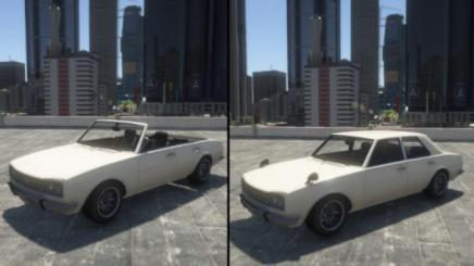 Photo of Gta 5 – Warrener Convertible 1.0