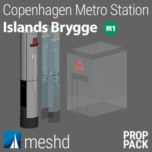 Photo of Cities: Skylines – Islands Brygge Station [Prop Pack]