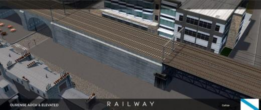 Photo of Cities: Skylines – Railway Ourense Elevated (Wired)