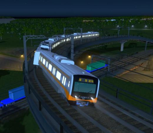 Photo of Cities: Skylines – Seoul Metro VVVF Class 3000 Train