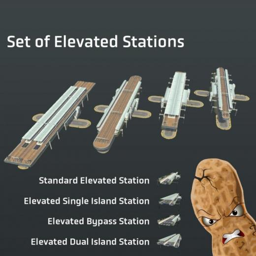 Photo of Cities: Skylines – Set of Elevated Stations