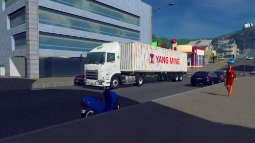 Photo of Cities: Skylines – Taiwan Truck – 40ft Container Truck(Yang Ming)