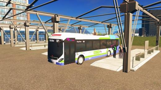 Photo of Cities: Skylines – Volvo 7900H RHD First Essex