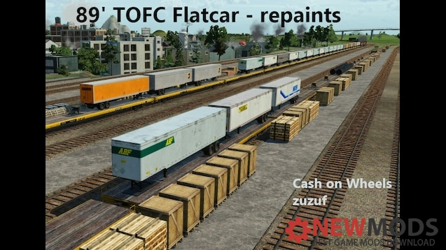 Photo of Transport Fever – 89 Flatcar Tofc