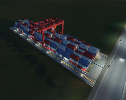 Photo of Cities: Skylines – Container Port (Animated)
