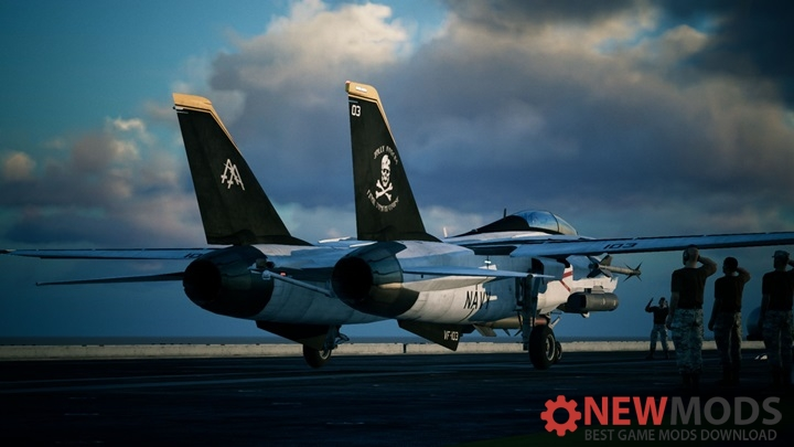Photo of AC7 – F-14D Jolly Rogers VF-103
