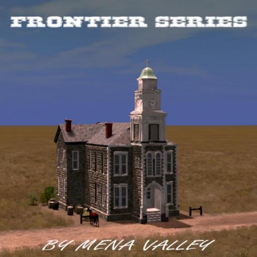 Photo of Cities: Skylines – Frontier County Courthouse