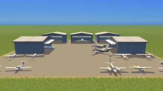 Photo of Cities: Skylines – General Aviation Hanger B