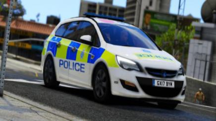Photo of Gta 5 – 2017 Sussex Police Vauxhall Astra Els   Replace Reskin 1.0