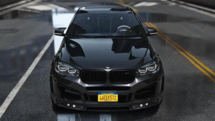 Gta 5 Bmw X6m Car Mod New Pc Game Modding