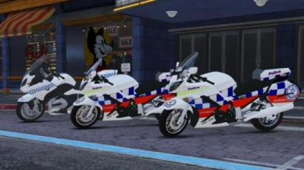 Photo of Gta 5 – Yamaha 2009 Nsw Highway Patrol Skin