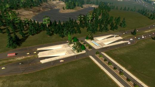 Photo of Cities: Skylines – Highway Intersection Mod