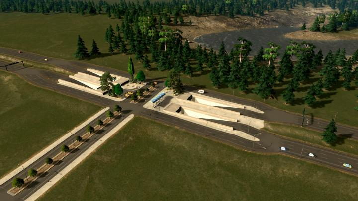Cities: Skylines - Highway Intersection Mod - Newmods Net PC