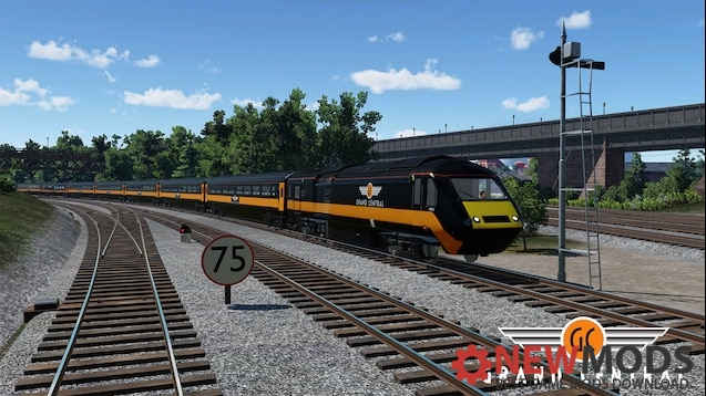 Photo of Transport Fever – HST Reworked Grand Central Livery Locomotive Mod