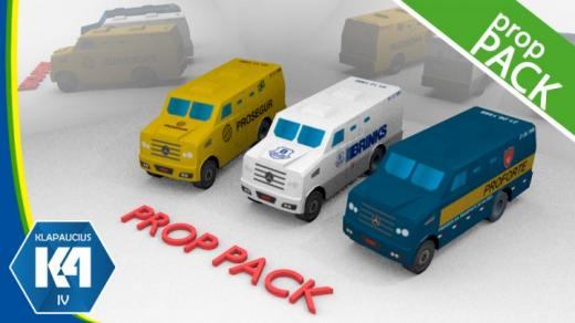 Photo of Cities: Skylines – K4 CarroForte / Armored Car Prop Pack