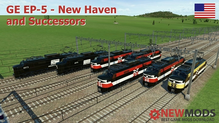 Photo of Transport Fever – GE EP-5 – New Haven & Successors