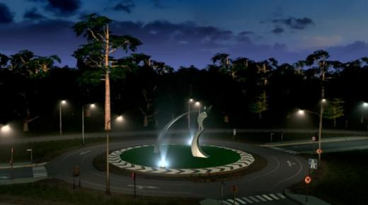 Photo of Cities: Skylines – Roundabout Monument 'Os'