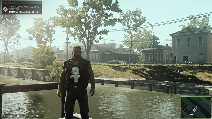 Photo of Mafia 3 – Black Flak Vest With Punisher Tanktop