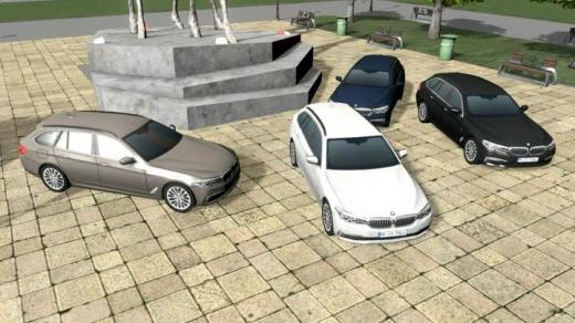 Photo of Cities: Skylines – BMW 5-Series Touring (G31) Luxury Line Prop