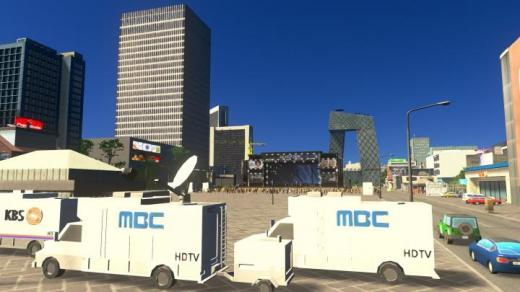 Photo of Cities: Skylines – Broadcasting Car 3 MBC Prop Package