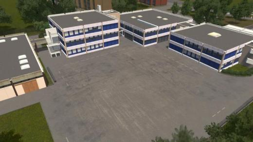 Photo of Cities: Skylines – Collège des Roseaux – Illkirch