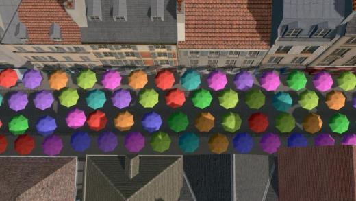Photo of Cities: Skylines – Colorful Umbrellas