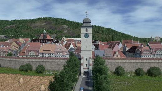 Photo of Cities: Skylines – Council Tower, Sibiu