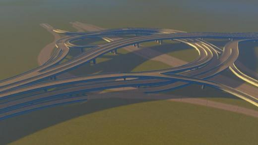 Photo of Cities: Skylines – E11-D59 5 Way Interchange + Avenue