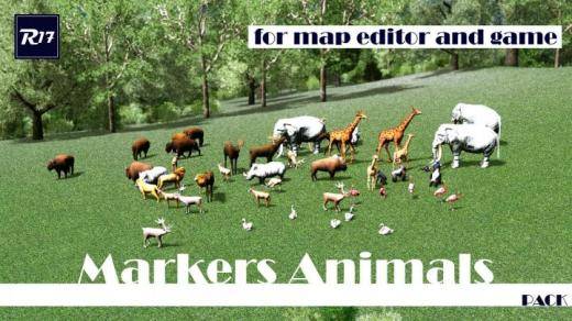 Photo of Cities: Skylines – Markers Animals (Pack)