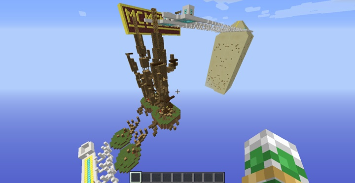 Photo of Minecraft – MCM Race Parkour Map