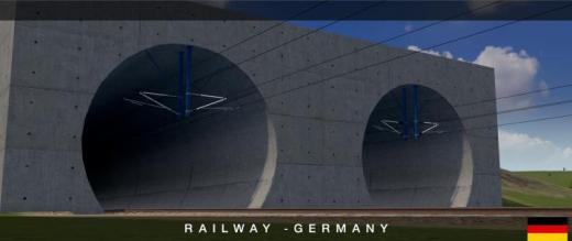 Photo of Cities: Skylines – Railway Buffer & Tunnel Catenary (German)