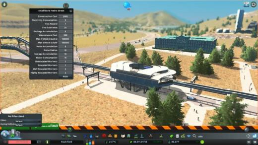 Photo of Cities: Skylines – Small Street Monorail Metro Station