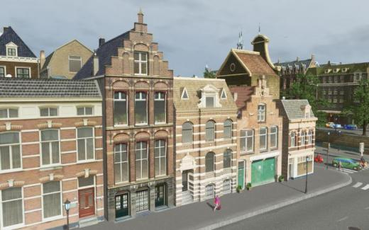 Photo of Cities: Skylines – Stepped Gable House