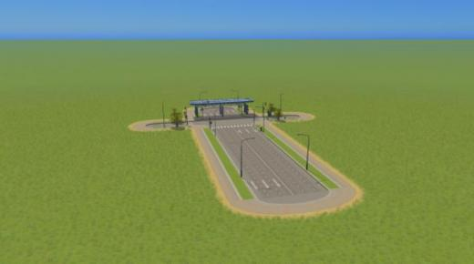 Photo of Cities: Skylines – Toll Booth 2×3 Line