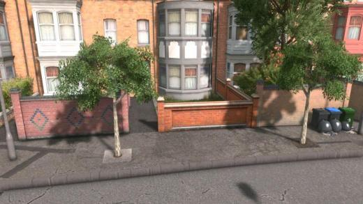 Photo of Cities: Skylines – UK Props – Brick Wall #2