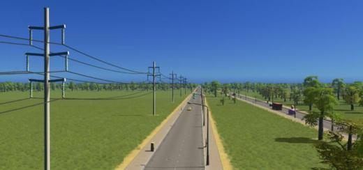 Photo of Cities: Skylines – Utility Pole Type 6