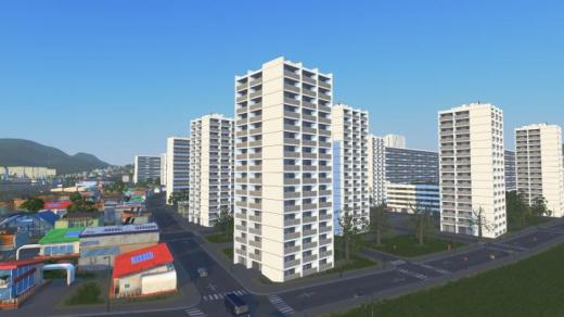 Photo of Cities: Skylines – Barbusse 1 (La Courneuve, France) RICO+Growable