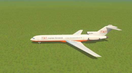 Photo of Cities: Skylines – Boeing 727 TNT (Parklife)