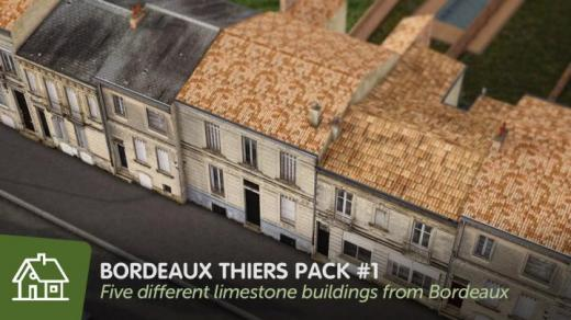 Photo of Cities: Skylines – Bordeaux Thiers – Pack #1