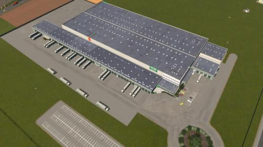 Photo of Cities: Skylines – Coop Alsace Logistics Center