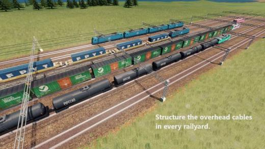 Photo of Cities: Skylines – Custom Catenary Network (Large Catenary)