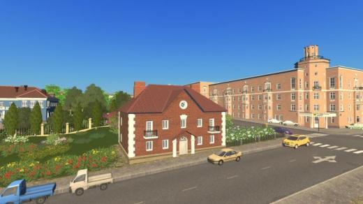 Photo of Cities: Skylines – House LDR3 3×3 Rico Project 1-202-1 Brick
