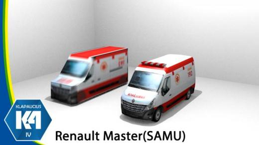 Photo of Cities: Skylines – K4 Renault Master Ambulance Samu