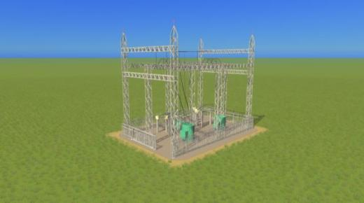Photo of Cities: Skylines – Large Substation