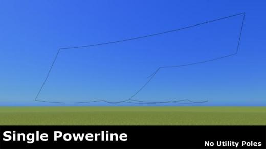 Photo of Cities: Skylines – Single Powerline No Utility Pole