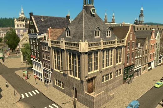 Photo of Cities: Skylines – Town Hall, Schoonhoven