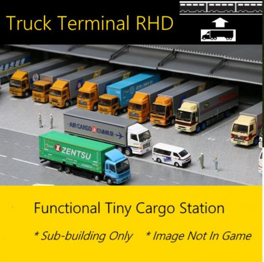 Photo of Cities: Skylines – Truck Terminal Rhd