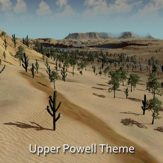 Photo of Cities: Skylines – Upper Powell Theme